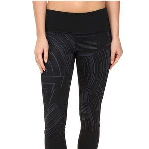 Brooks Running Yoga Leggings Tights Black Cosmo 2X